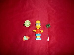 The Simpsons Treehouse Bart Playmates Figure Complete