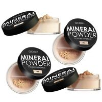 Gosh Mineral Powder for Smooth & Flawless Finish, Medium/full Coverage, 6 Shades
