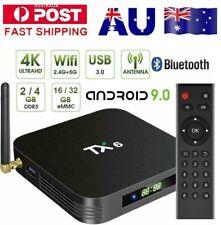 Top Box TX6  Android 9.0 Quad Core 4K Smart TV Box Allwinner H6  4+32GB / 2+16GB