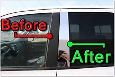 Chrome Pillar Posts for Jaguar X-Type (4dr) 02-08 6pc Set Door Cover Trim(Fits: Jaguar X-Type)