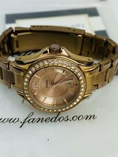 Fossil Women's 'Riley' Rose Gold Crystal Watch ES2889 133970