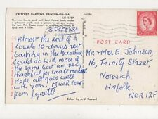Crescent Gardens Frinton On Sea 1963 Postcard 797a