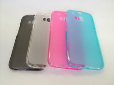 TPU Gel Soft Jelly Case Phone Cover For HTC One M8