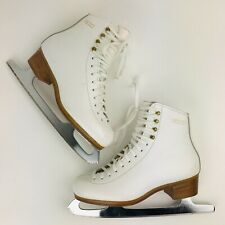 Gam Figure Skates Ladies Size 4.5 A 0035 6441 with Step 9 Blades