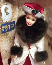 Nrfb Barbie Hallmark Doll Holiday Memories 2nd in Series Se 1995 Mattel #14106