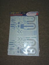 Aztec Decals for the Star Trek USS EXCELSIOR 1/1000 scale by POLAR LIGHTS