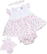 Vestido de bebé y conjunto de bragas Fresas Ropa de niñas Recién nacido - 6m