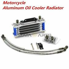 Motorcycle Aluminum Oil Cooler Radiator For 50 70 90 110CC Dirt Pit Bike Racing