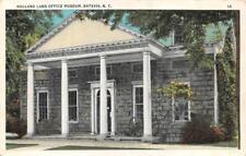 BATAVIA, NY New York    HOLLAND LAND OFFICE MUSEUM      c1920's Postcard
