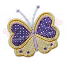Schmetterling XL Applikation Aufbügler Aufnäher zum aufbügeln stickapplikation