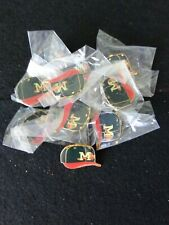 VINTAGE Mississippi Braves Minor League Pins Lot of 10 in Case  #2 FREE SHIPPING