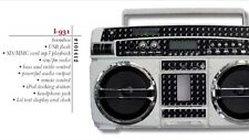 "LASONIC BOOMBOX, GHETTOBLASTER IPOD Version ""Stars & Straps"" LTD Edition of 300"