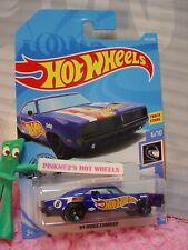 '69 DODGE CHARGER #243 ☆blue HW RACE TEAM 🏁2019 i Hot Wheels CASE Q/2020 A