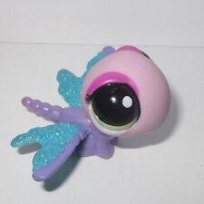 Littlest Pet Shop # 2233 Dragon Fly Sparkle Glitter Pet BLEMISHED