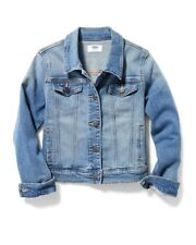 Old Navy Medium-Wash Denim Jacket for Girls!