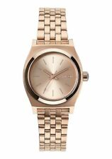 Nixon Small Time Teller Watch All Rose Gold NEW in box