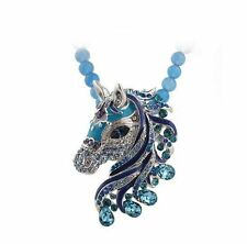 Modeschmuck-Halsketten mit Strass-Perlen und Tier- & Insekten-Themen
