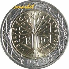 Pièces euro de la France pour 2 Euro année 1999