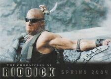 2004 The Chronicles Of Riddick Promo Trading Card P1 Vin Diesel