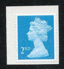 GB 2014 QE II 2nd bright blue M14L MTIL SG U2963 ex booklet of 12 MNH