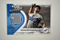 2021 Series 1 Major League Material Relic #MLM-WB Walker Buehler