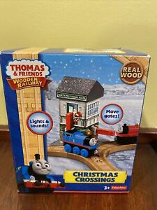 Thomas And Friends Wooden Railway Christmas Crossings