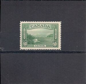 Canada George VI 50 Cent Green. Mint Never Hinged SG 366