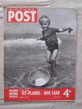 PICTURE POST - 10 AUG 1946 - LANA LAUGHS - LANA TURNER -