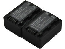 2 Battery for VW-VBK180 VBK360 HC-V600M V700K V700M HC-V707 V707M HDC-HS60 HS80