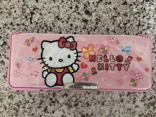 Hello Kitty Sanrio 2012 Vintage Pencil Case