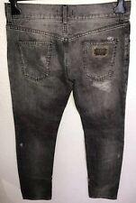 Dolce & Gabbana  Black Distressed Jeans IT48 W32 L34  RRP £579