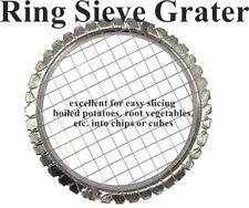 Ring Sieve Grater String Slicer Cutter For Boiled Vegetables