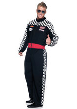 NWOT $44.99 ADULT RACE CAR DRIVER UNISEX COSTUME IMPORTED FROM U.S. - M
