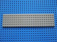 LEGO 1 x Platte Bauplatte alt hellgrau  3026   6x24  Noppen 334 335 7740 7822
