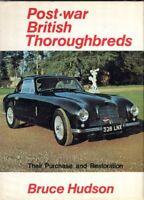 Post-war British Thoroughbreds - AC Alvis Bristol Daimler Jaguar Lagonda MG book