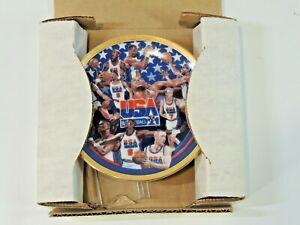 1992 Made USA Basketball Team Sports Impression NBA Plate The First Ten Chosen