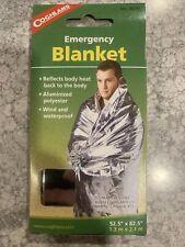 2 Packs Coghlans Emergency Blanket Hiking Camping Survival