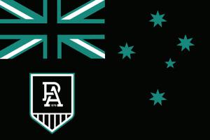 Port Adelaide Power AFL Australia Australian Aussie Flag 90 x 150 cm!