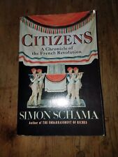 Citizens Chronicle of the French Revolution PB Simon Schama 0679726101