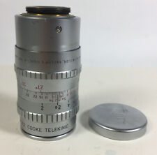Taylor and Hobson 2 inch f2 Cooke Telekinic lens C mount 88% condition