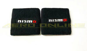 2x Nismo Reservoir Cover Socks For Nissan Skyline GTR Silvia 350Z 370Z 200sx