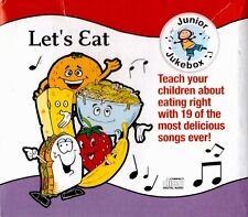 Junior Jukebox TEACH YOUR CHILDREN ABOUT EATING RIGHT!  CD Kids Food Nutrition