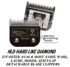 HLD(HARD LIKE DIAMOND)Pet Grooming 10 Blade*Fit Oster A5,MOST Andis,Wahl Clipper
