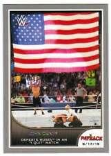 2016 Topps WWE Road to Wrestlemania Silver Parallel #30 John Cena