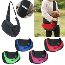 Hands Free Pet Sling Pet Carrier Bag Breathable Mesh Travel Dog Sling Bag