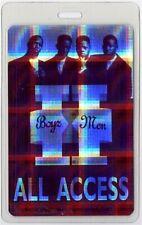 Boyz II Men authentic 1995 concert tour Laminated Backstage Pass Holographic 2