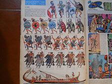 corriere dei piccoli anni 60 soldatini disegnati da UGO PRATT antichi GRECI