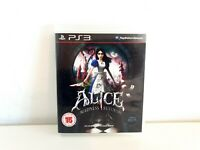 Alice Madness Returns PS3 Game Sony PlayStation 3 With Manual See Description