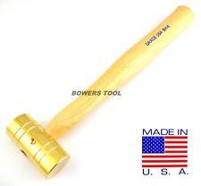 Grace 8oz Brass Hammer BH-8 Gunsmith Gun Care Machinist Made in USA