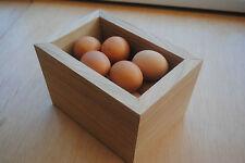 Oak veneer egg holder